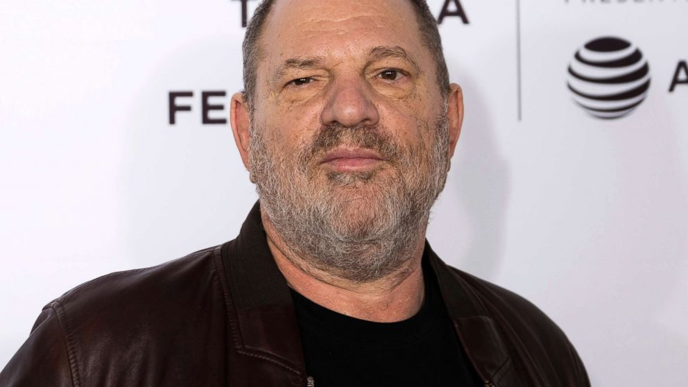 """In this April 28, 2017 file photo, Harvey Weinstein attends the """"Reservoir Dogs"""" 25th anniversary screening during the 2017 Tribeca Film Festival in New York City."""