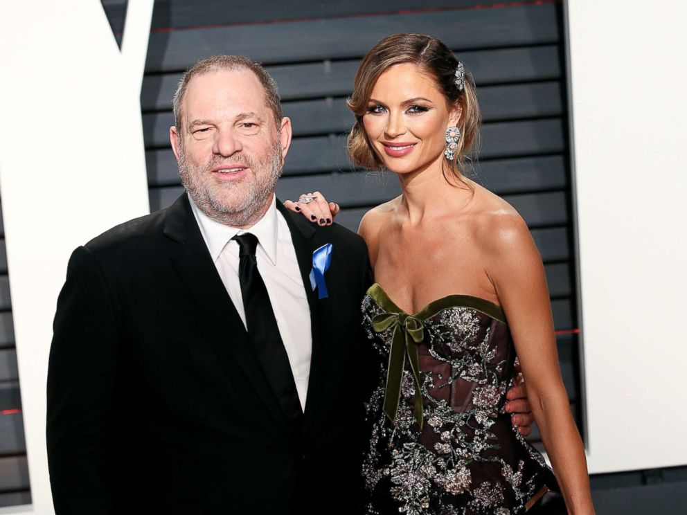 PHOTO: Harvey Weinstein and Georgina Chapman attend the 2017 Vanity Fair Oscar Party, Feb. 26, 2017, in Beverly Hills, Calif.