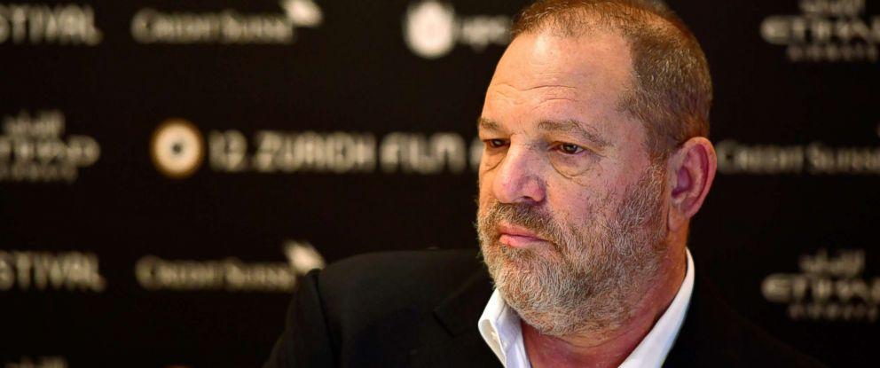 PHOTO: Harvey Weinstein speaks at a film festival in Zurich, Switzerland, Sept. 22, 2016.