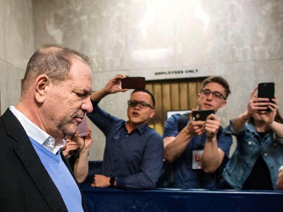 PHOTO: Harvey Weinstein leaves the Manhattan Criminal Court in New York, May 25, 2018.