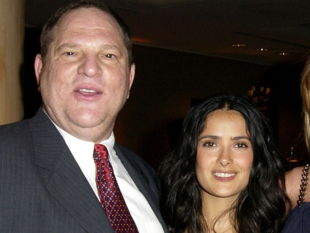 Salma Hayek 'ashamed' she wasn't part of original Harvey Weinstein expose