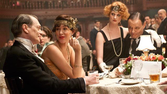 PHOTO:Steve Buscemi and Paz de la Huerta are seen in a scene from the HBO show Boardwalk Empire.