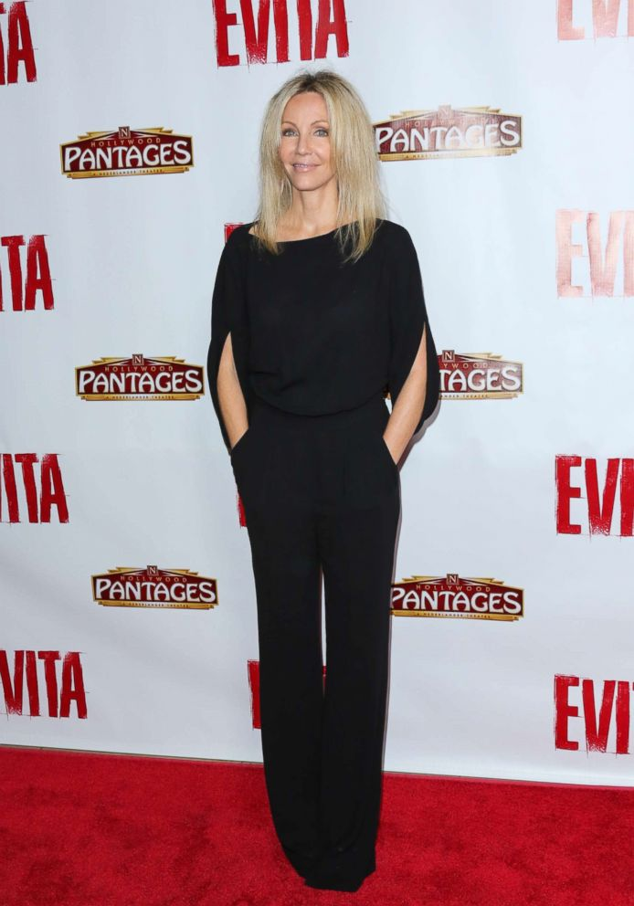PHOTO: Actress Heather Locklear attends the opening night of Evita at the Pantages Theatre, Oct. 24, 2013 in Hollywood.