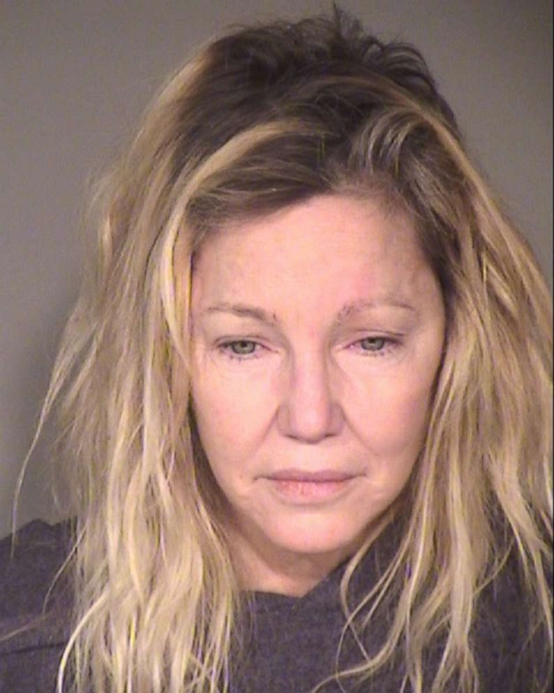 Heather Locklear booking photo released by the Ventura County Sheriff's Office.