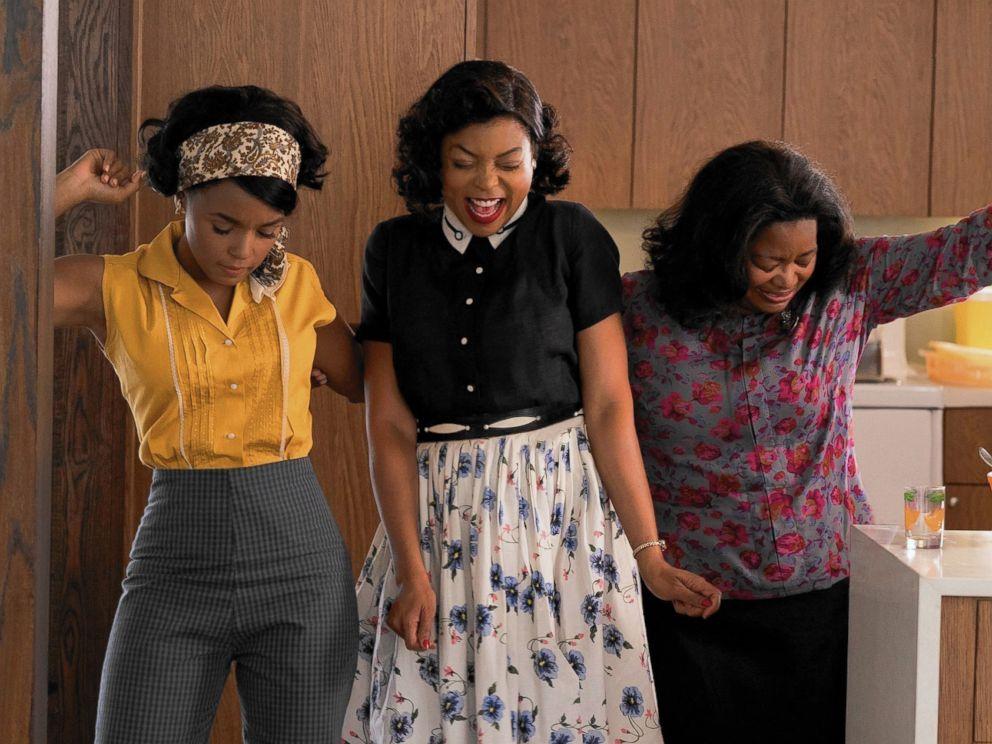 PHOTO: Janelle Monae, Taraji P. Henson and Octavia Spencer star in the 2016 film, Hidden Figures.