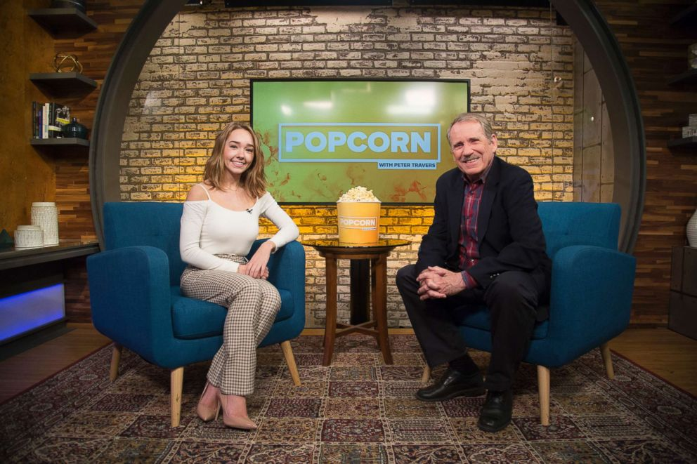 PHOTO: Holly Taylor, who stars as Paige Jennings on FXs The Americans, appeared on ABC News Popcorn With Peter Travers.