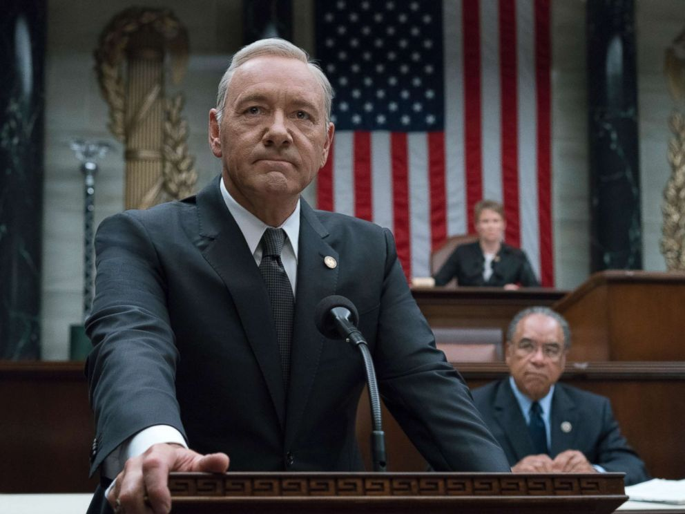 PHOTO: Scene from House of Cards.