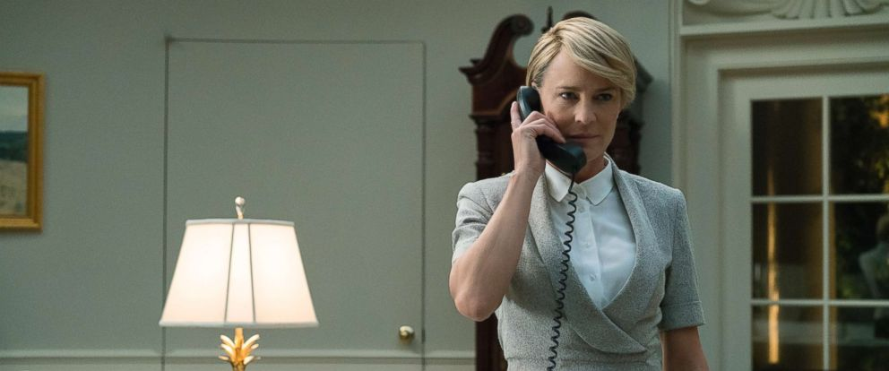 "PHOTO: Scene from ""House of Cards."""