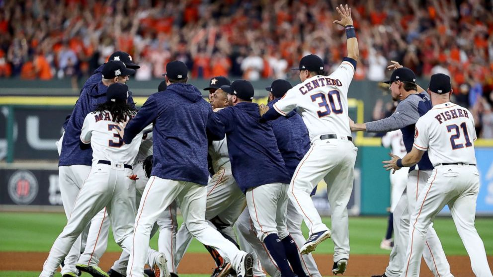 22c89963a Houston Astros off to the World Series: Cities that rallied behind teams  post tragedy - ABC News