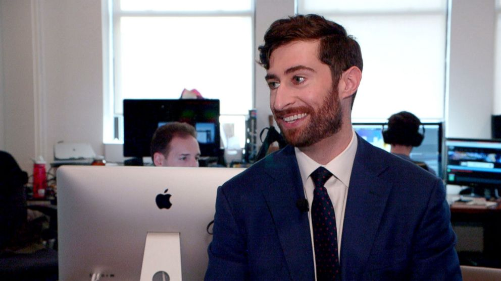 PHOTO: Scott Rogowsky was living with his parents in Westchester while trying to make it as a standup comic in New York before he was offered HQ Trivia.