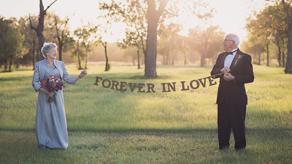 Ferris and Margaret Romaire, of Morgan City, Louisiana, marked their 70th wedding anniversary with a photo shoot.