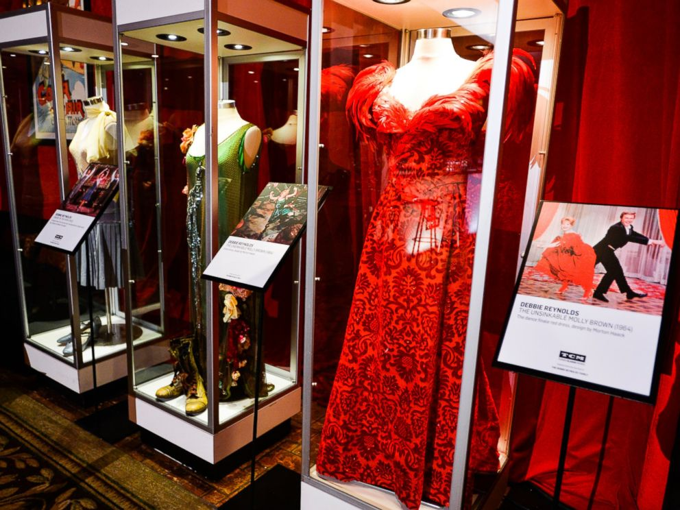 PHOTO: Debbie Reynolds Exhibit in Club TCM at the Hollywood Roosevelt during the 2017 TCM Classic Film Festival in Hollywood, Calif.