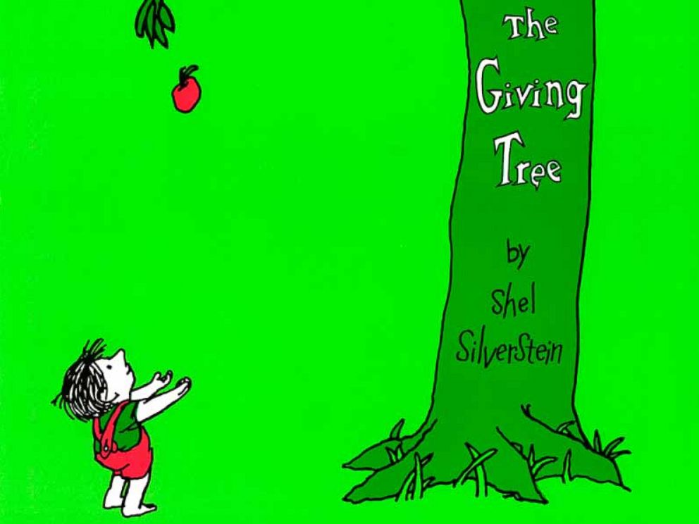 PHOTO: Book cover of Shel Silversteins The Giving Tree.