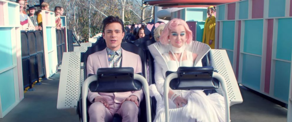 """PHOTO: The music video for Katy Perrys """"Chained To The Rhythm (Official) ft. Skip Marley."""""""