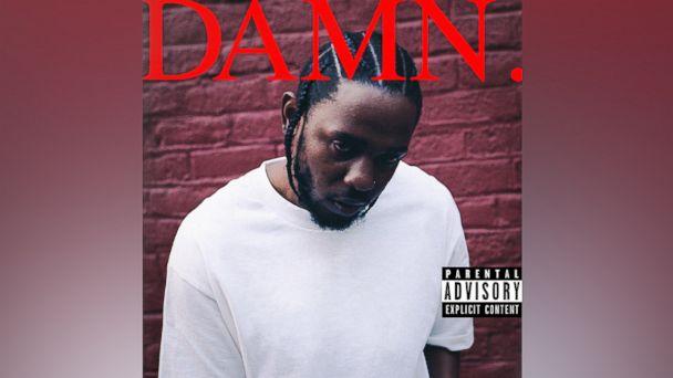 "PHOTO: Kendrick Lamars new album ""Damn.,"" was released, April 14, 2017."