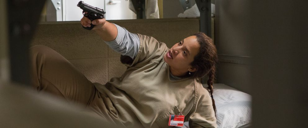 "PHOTO: Daya played by Dascha Polanco in ""Orange Is The New Black,"" Season 5."