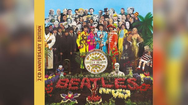 """PHOTO: The Beatles new anniversary album, """"Sgt. Peppers Lonely Hearts Club Band,"""" was released on May 26, 2017."""