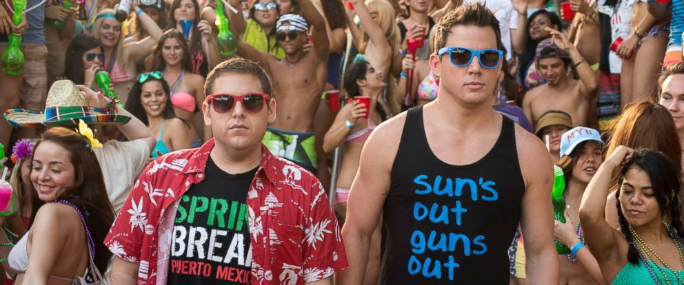 """PHOTO: Jonah Hill and Channing Tatum in Columbia Pictures """"22 Jump Street"""" which opens on June 13, 2014."""