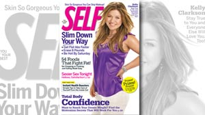 Kelly Clarkson: Skinny and Svelte on Cover of Self, Thanks to Airbrushing
