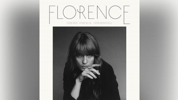 "PHOTO: Florence + The Machines album ""How Big, How Blue, How Beautiful"""