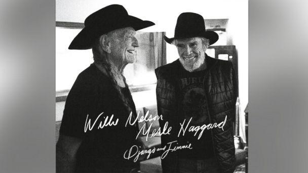 "PHOTO: Willie Nelson and Merle Haggards album, ""Django & Jimmie"""