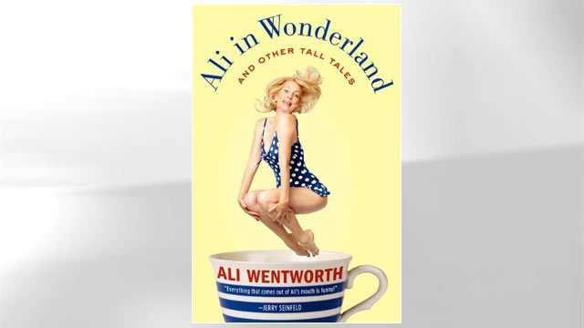 PHOTO: Ali Wentworths new book, Ali in Wonderland is shown here.