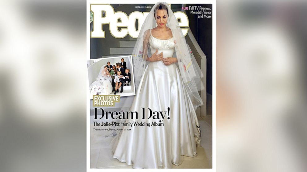 First Pictures From Brad Pitt And Angelina Jolie S Wedding Released Abc News
