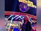 PHOTO: Dancer Anna Trebunskaya posted this photo on Instagram on Nov. 26, 2013 with the caption, Amazing show tonight @dancingabc. now really , no kidding.