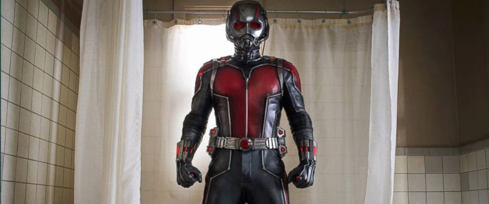 PHOTO: Paul Rudd in a scene from Marvels, Ant-Man.