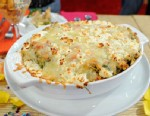 """PHOTO: Kelsey Nixons """"Argo""""choke and red pepper dip is shown here."""
