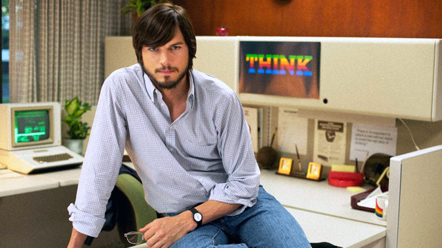 PHOTO: Ashton Kutcher as Steve Jobs