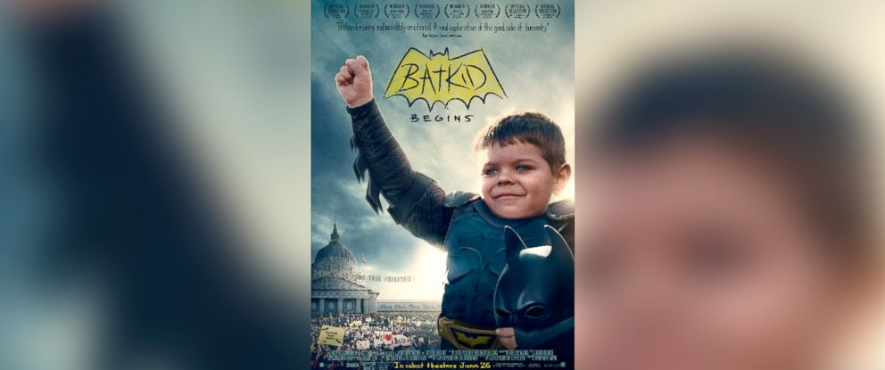 """PHOTO: The poster for the documentary """"Batkid Begins."""""""
