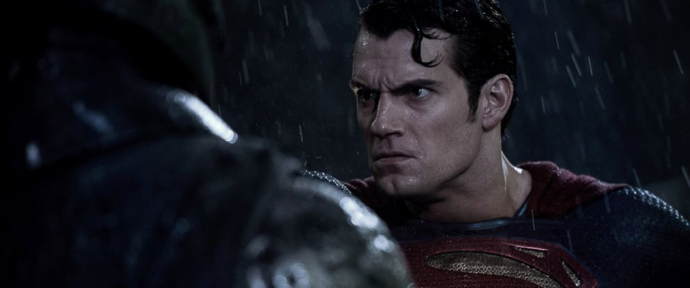 """PHOTO: Henry Cavill and Ben Affleck star in """"Batman v Superman: Dawn of Justice."""""""