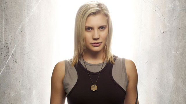 "PHOTO: Katee Sackhoff as Kara ""Starbuck"" Thrace."