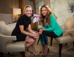 PHOTO: ABC News Amy Robach interviews pop superstar Beyonce.