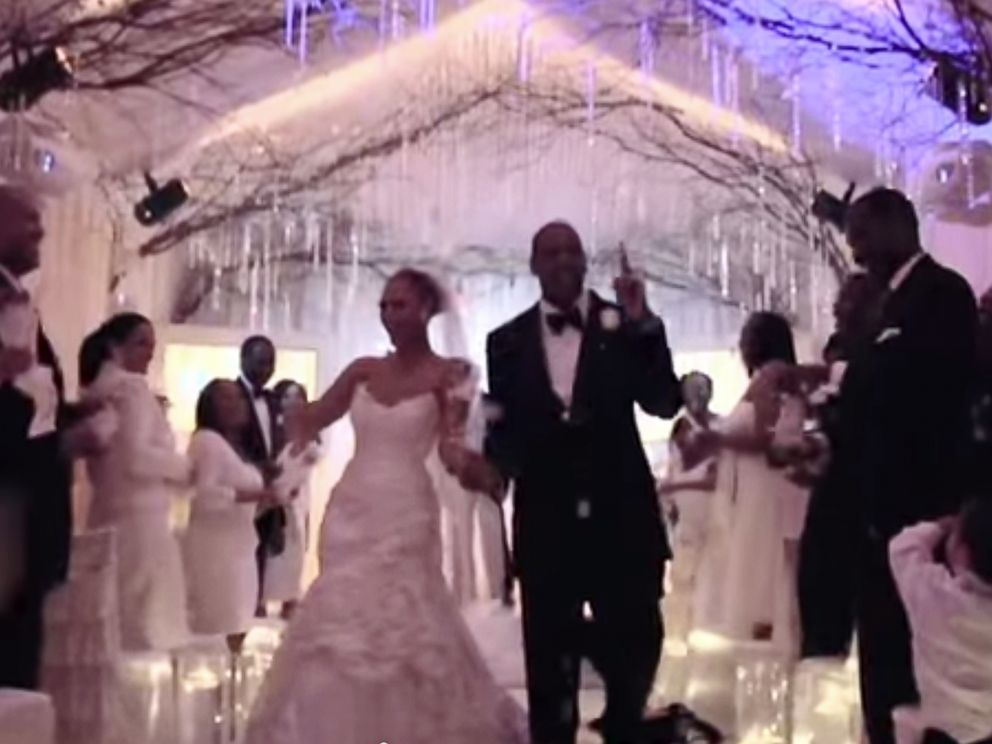PHOTO: Beyonce posted this video on YouTube showing a clip from the On the Run documentary, including footage from her wedding and personal moments with her family.
