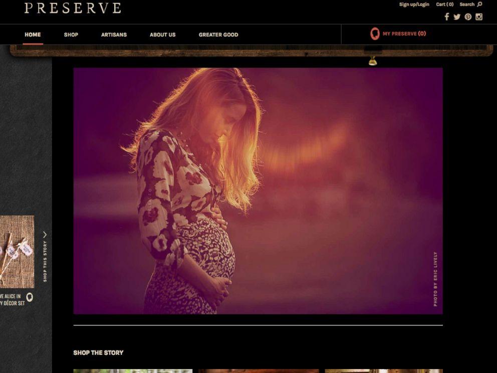 PHOTO: Blake Lively posted this photo on Preserve.us.