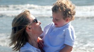 PHOTO Deliece Hofen and her son Braden are shown in this file photo. Both mother and son are battling cancer.