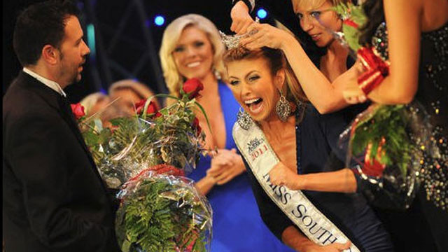 "PHOTO: Bree Boyce is pictured winning the 2011 ""Miss South Carolina"" pageant, July 2, 2011."