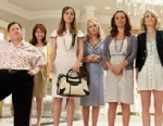 "PHOTO: Melissa McCarthy, Ellie Kemper, Rose Byrne, Wendi Mclendon-Covey, Maya Rudolph and Kristen Wiig in ""Bridesmaids"". In the comedy, Wiig stars as Annie, a maid of honor whose life unravels as she leads her best friend, Lillian (Rudolph), and a group o"