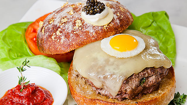 PHOTO: Serendipity 3 holds a new Guinness World Record of serving the Most Expensive Hamburger in the World - Le Burger Extravagant!