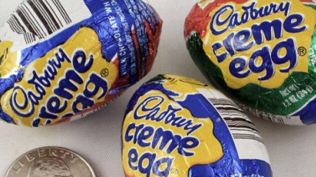 PHOTO: Joel Kampfe, wine director of ENO, recommends pairing Cadbury Creme Eggs with Madeira.