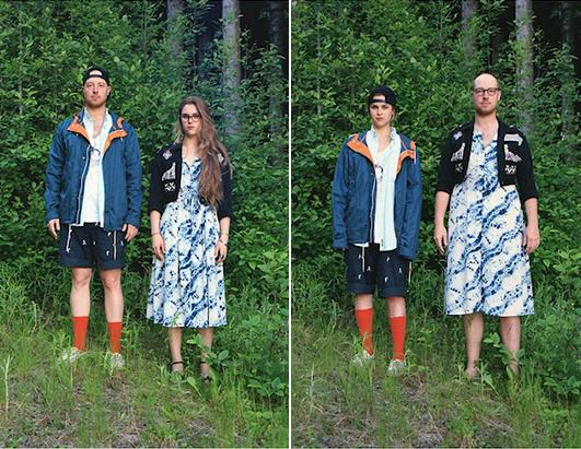 Couples Swap Outfits Photos - ABC News