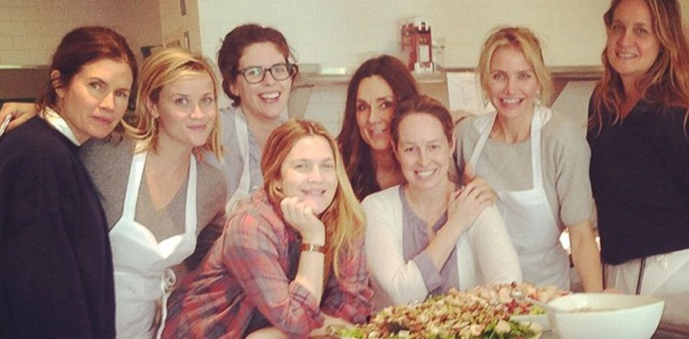 PHOTO: Cameron Diaz posted an image on Instagram of herself with a group of women that included Reese Witherspoon and Drew Barrymore.