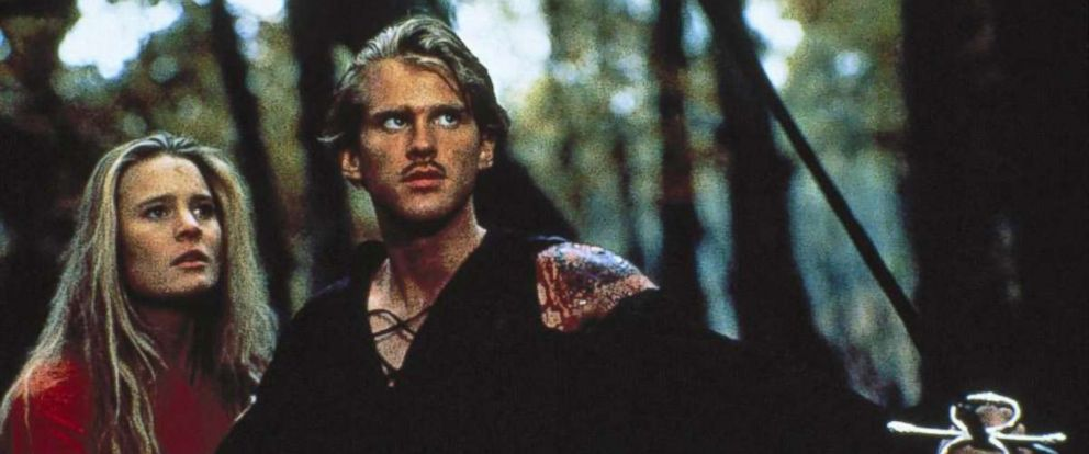 """PHOTO: Robin Wright and Cary Elwes are seen in a still from the 1987 film """"The Princess Bride."""""""