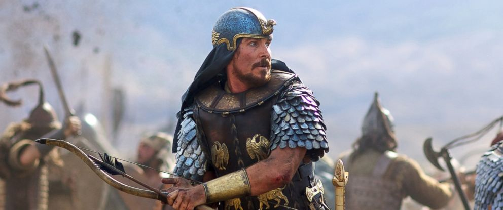 "PHOTO: Christian Bale stars as Moses in the film, ""Exodus: Gods and Kings."""