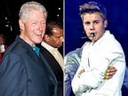 PHOTO: Bill Clinton and Justin Bieber