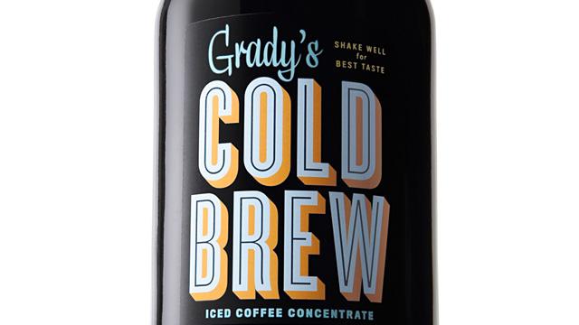 PHOTO: Grady's Cold Brew Iced Coffee