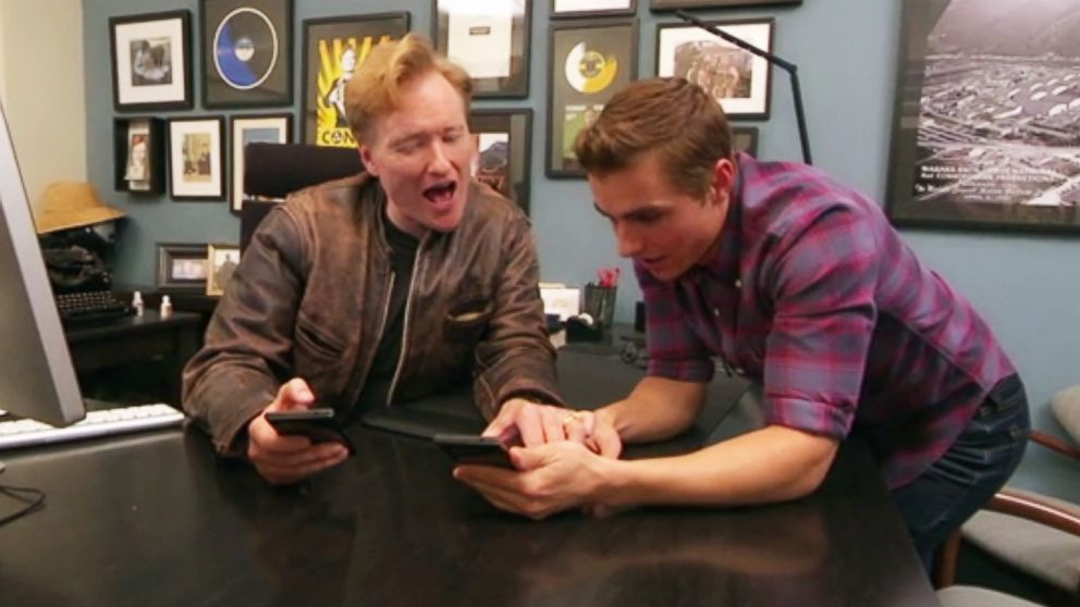 Watch conan obrien and dave franco take on tinder abc news m4hsunfo