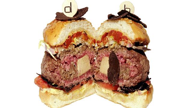 PHOTO: Double Truffle burger